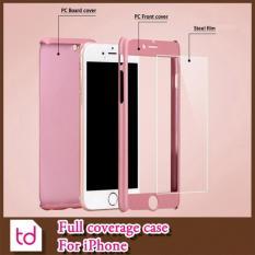 Jual Hardcase 360 Iphone 6 6S Full Case Depan Belakang Rose Gold Apple Ori