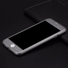 Toko Hardcase Case 360 Iphone 6 6 Plus Casing Full Body Cover Grey Free Tempered Glass 360