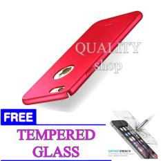 Hardcase Case For Iphone 6 / 6S Ultra Slim + FREE TEMPERED GLASS