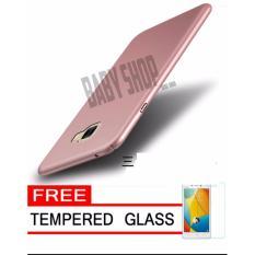 Hardcase Case For Samsung Galaxy C9  Ultra Slim Shockproof Premium Matte elegan Free Tamper Glass