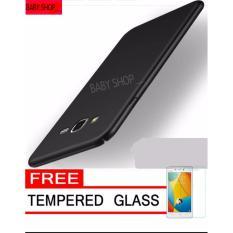 Hardcase Case For Samsung Galaxy J3 2016 Ultra Slim Shockproof Premium Matte elegan Free Tamper Gla