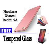 Toko Hardcase Case For Xiaomi Redmi 5A Free Tempered Glass For Xiaomi Redmi 5A Hitam Biru Gold Merah Rose Gold Abs Termurah Dki Jakarta