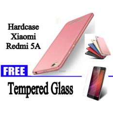 Spesifikasi Hardcase Case For Xiaomi Redmi 5A Free Tempered Glass For Xiaomi Redmi 5A Hitam Biru Gold Merah Rose Gold Abs Yang Bagus Dan Murah
