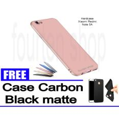 Diskon Hardcase Case For Xioami Redmi Note 5A Black Blue Gold Red Rosse Gold Freecase Carbon Black Matte For Xiaomi Redmi Note 5A Hardcase Dki Jakarta