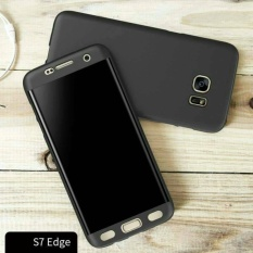 Spesifikasi Hardcase Case Samsung Galaxy S7 Edge Full Cover 360 Tempered Glass Paling Bagus