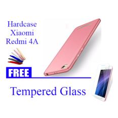 Promo Hardcase Casing Cover Hp Xiaomi Redmi 4A Abs Free Tempered Glass Abs Akhir Tahun