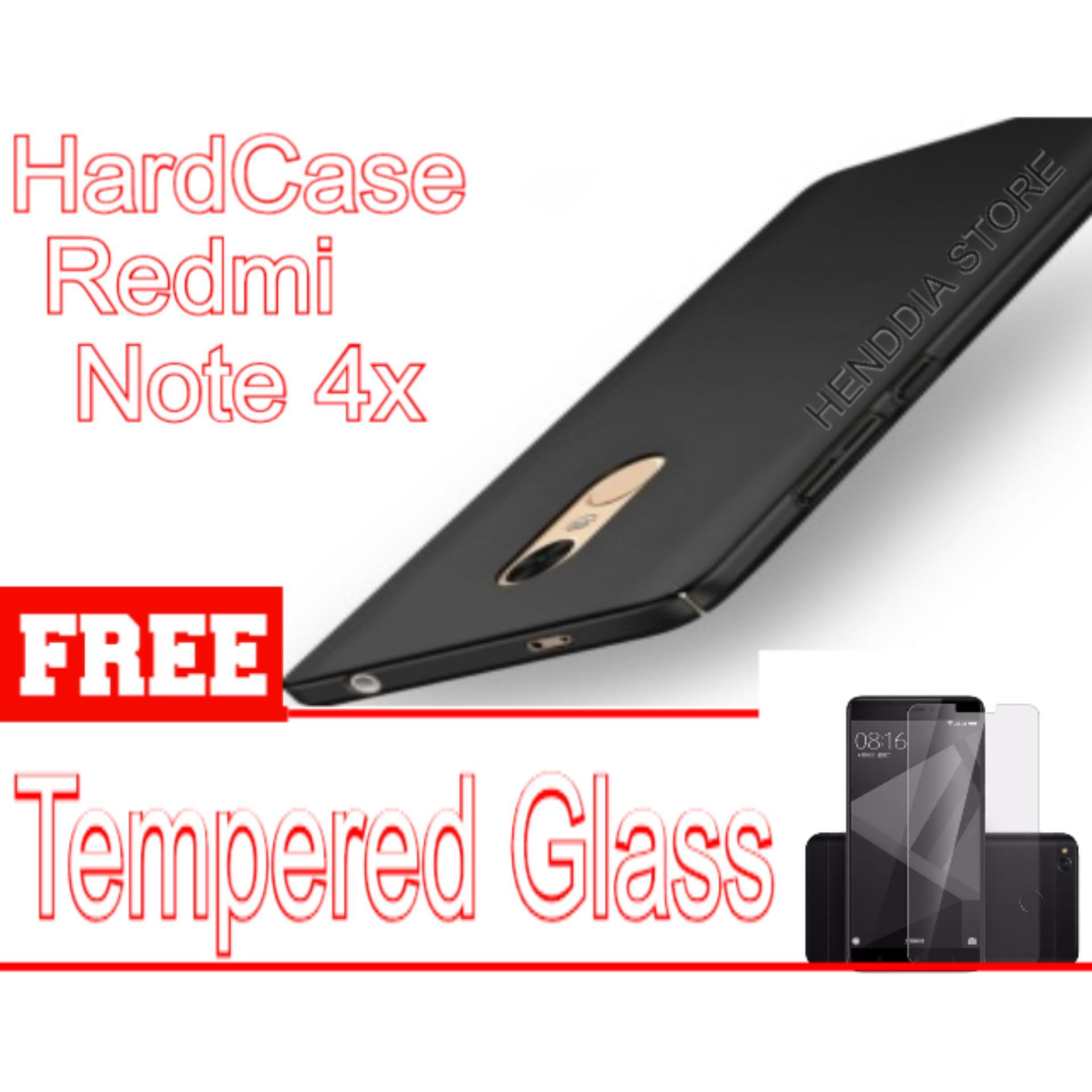 Hardcase Delckin Xiaomi Redmi Note 4x Free Tempered Glass Note 4x