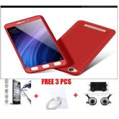 Hardcase Fullhardcase 360 Xiaomi Redmi 5A Free Tempered Glass+Joystick+Iring