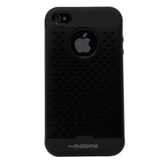 Hardcase Motomo Net Case For Apple Iphone 4/4S - Hitam
