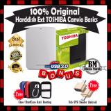 Jual Harddisk 1Tb Toshiba Canvio Basics Harddisk External White Gratis Hard Case Soft Case Antishock Usb Otg Reader Mini Branded Original