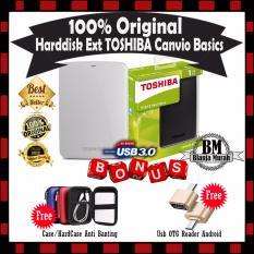 Harga Harddisk 1Tb Toshiba Canvio Basics Harddisk External White Gratis Hard Case Soft Case Antishock Usb Otg Reader Mini Toshiba Original