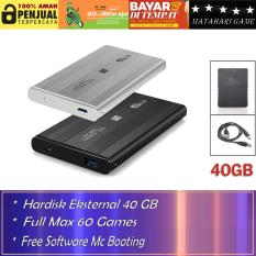 Hardisk Eksternal PS2 40GB - Support Semua SLIM Series Playstation 2 - Best Quality
