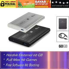Hardisk Eksternal PS2 60GB - Support Semua SLIM Series Playstation 2 - Best Quality