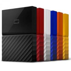 Hardisk Eksternal WDC My Passport 4TB- MERAH-USB 3.0-2.5