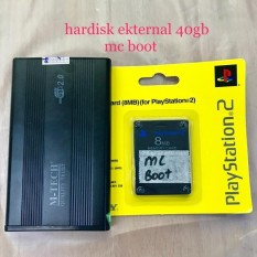 HARDISK PS2 EKTERNAL 40Gb + Mc Boot Lengkap