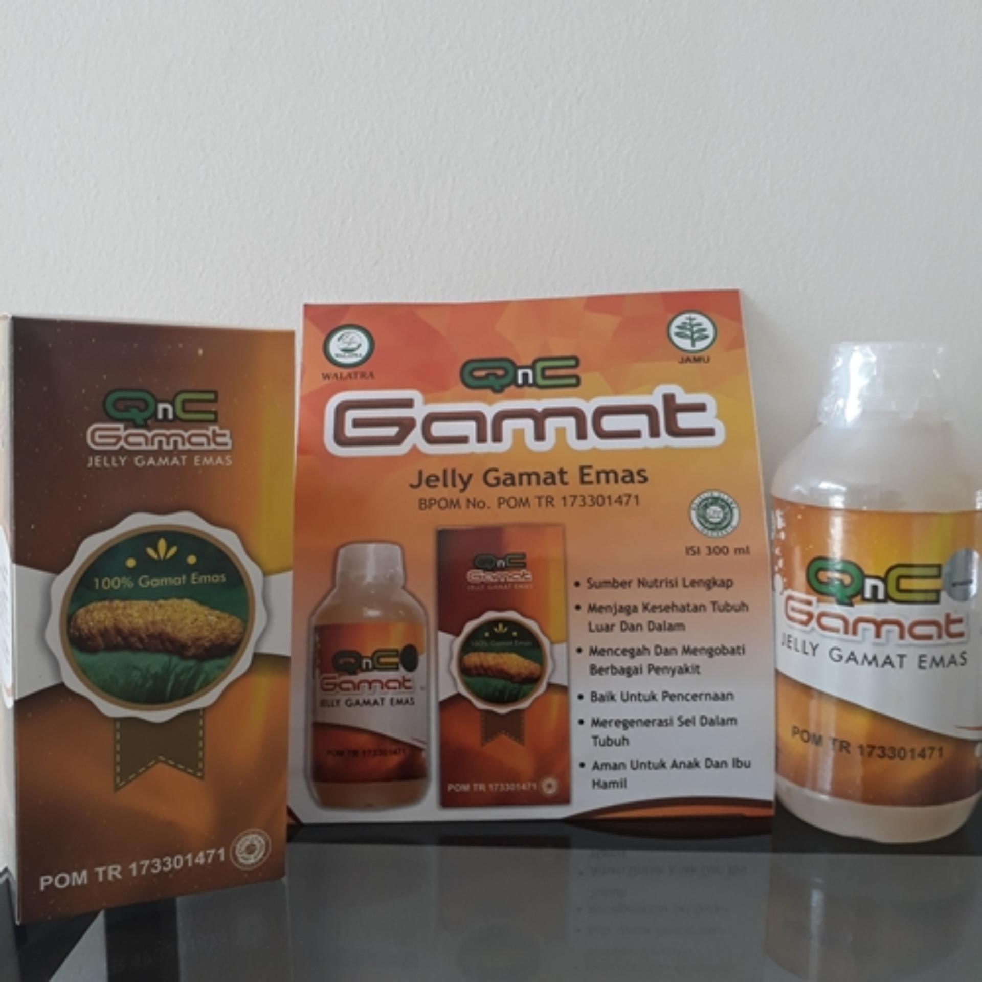 Harga Harga Asli Qnc Jelly Gamat Teripang Emas Original Banten
