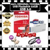 Jual Toshiba Flash Disk Usb 3 32Gb High Speed Superspeed Waterproof White Gratis Usb Otg Reader Android Kabel Charger Micro Android Di Bawah Harga