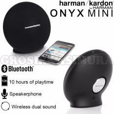 Toko Harman Kardon Onyx Mini Bluetooth Speaker Wireless Portabel Original Hitam Dekat Sini