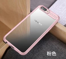Hawkeye Slim Anti Slip Soft TPU + Crystal Clear Acrylic PC Transparent Back Cover Case for Vivo X20 Plus