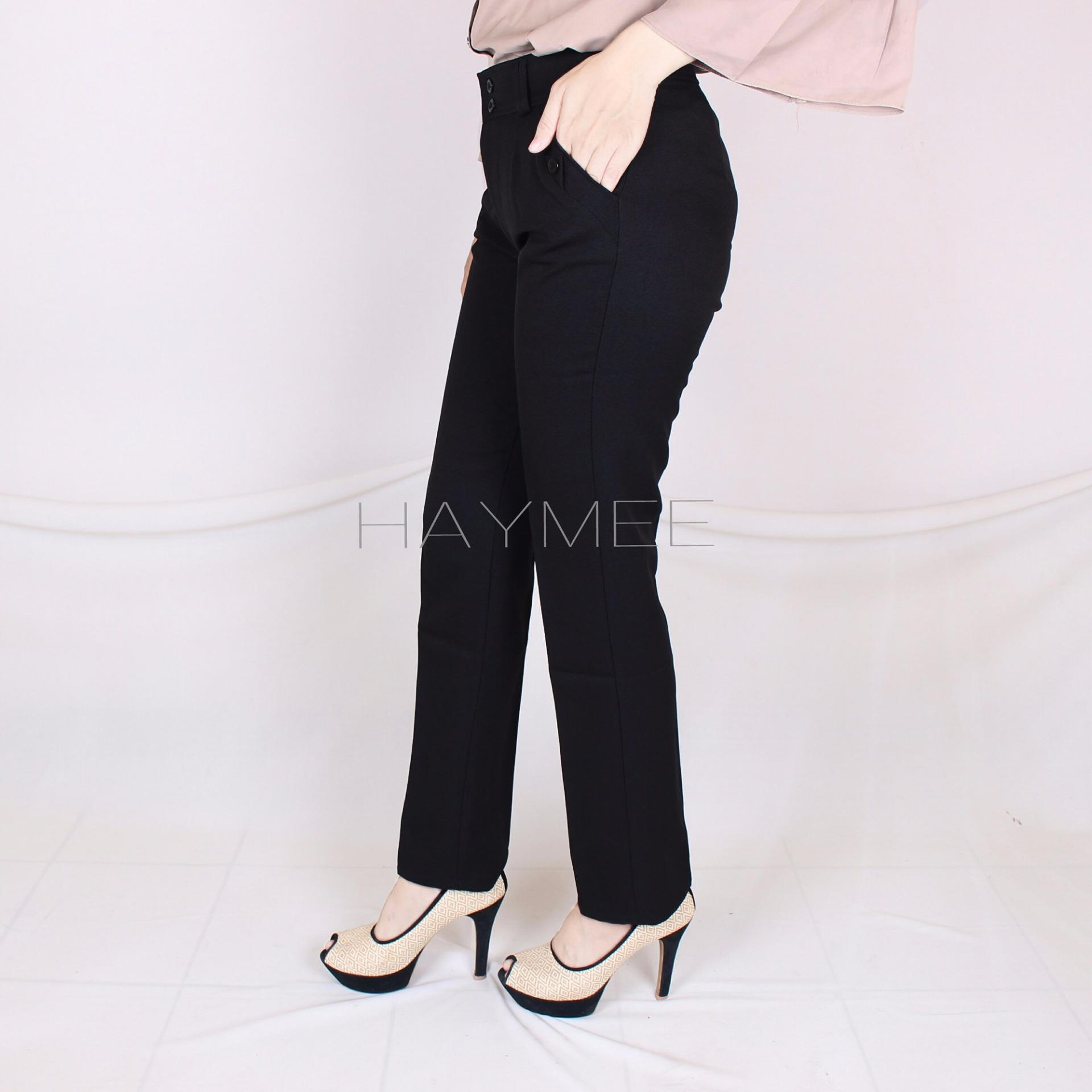 Promo Haymeestore Celana Kantor Wanita Celana Kerja Cewek Celana Formal Cewe Premium Casual Fashion Di Banten
