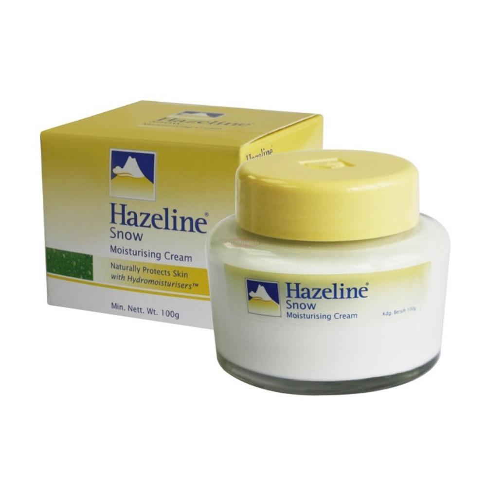 Spesifikasi Hazeline Snow Moisturising Cream Pelembab Import Malaysia Original 100Gr 1 Buah Online