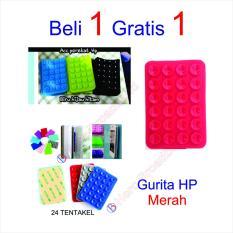 HB Tempelan Belakang HP Stand Holder Gurita 24 Tentakel Beli 1 gratis 1