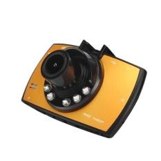 HD 1080 P LCD Car DVR Dash Camera Crash Cam G-sensor NightVisionHDMIYellow-Intl