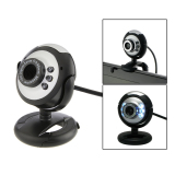Spesifikasi Hd 12 Megapiksel 6 Usb Webcam And Mikrofon Kamera With Penglihatan Malam For Pc Desktop Hitam Murah