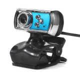 Jual Hd 12 Megapiksel 3 Usb Webcam And Mikrofon Kamera With Penglihatan Malam For Pc Biru Baru