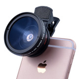 Spesifikasi Hd 37 Mm 45 X Super Sudut Lebar Lensa Dengan 12 5 X Super Lensa Makro Untuk Ponsel Paling Bagus