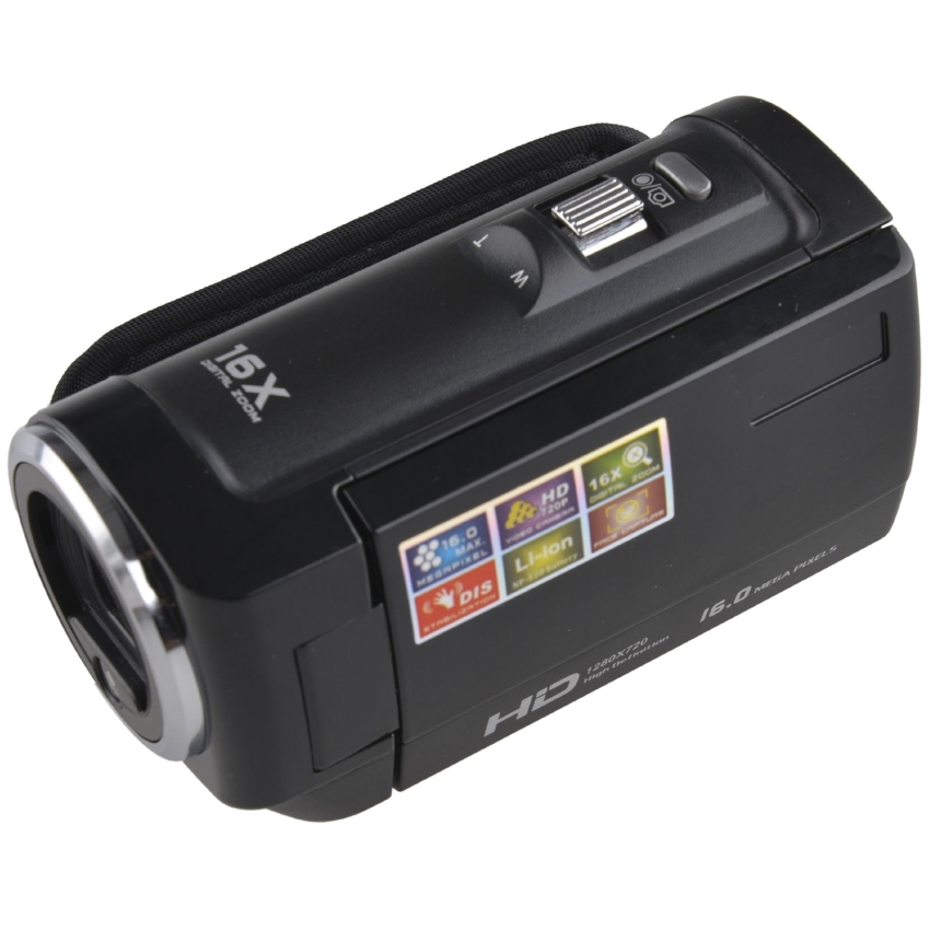 Jual Hd 720P 16Mp Digital Video Camcorder Camera Dv Dvr 2 7 Tft Lcd 16X Zoom Hd Video Recorder 1280 720P Black Branded Murah