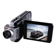 HD Dual Kamera Mengemudi Perekam 2.7 LCD-CAM Mobil DVRw/GPSLoggerG-Sensor-Intl
