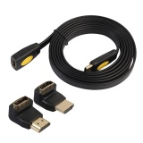 Toko Hdmi 2160 P 4 K X 2 K Hd Kabel Male To Female Dengan 90 270 Adapter Hitam 1 8 M Intl Online Di Tiongkok