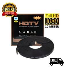 HDMI Kabel HDMI Flat 10 Meter