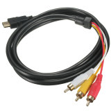 Toko Hdmi Male For 3 Rca Dari Konverter Audio Video Adaptor Hdtv Kabel Komponen Av 1 5 M Termurah Tiongkok