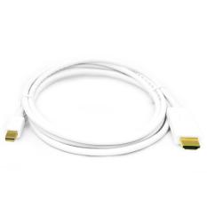 Spesifikasi Hdmi Mini Displayport To Hdmi Cable Adapter 1 8M Putih Bagus
