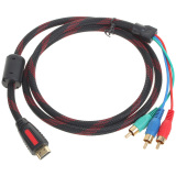 Tips Beli Hdmi For 3 Rca Kabel Video Komponen 1 5 M 45 Panjang 45 Internasional