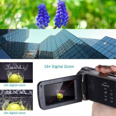 HDV 312 P 2.7 ''inch Digital Camera 1080 P 16X Zoom 24MP DV Layar LCD UK Plug-Intl