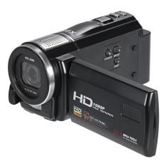 HDV-F500 1080 P 24MP Video 16X Digital Zoom Kamera Camcorder3.0inch Sentuh TFT Perekam Layar dengan Flash Light-Intl