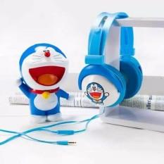 Promo Headphone Headset Karakter Doraemon Mobile Stereo Headset Pm2902 Akhir Tahun