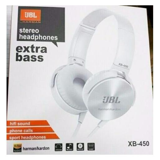 Beli Headphone Headset Handsfree Jbl Xb 450 Extra Bass Iq Online Terpercaya