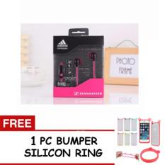 Headphone in Ear / Earphone SENNHEISER - WARNA RANDOM + FREE 1 PC BUMPER SILICON PELINDUNG