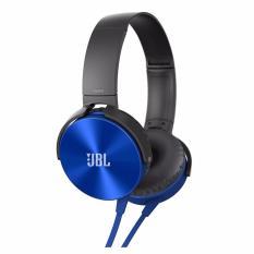 Jual Headphone Jbl J 08 Extra Bass Stereo Biru Di Dki Jakarta
