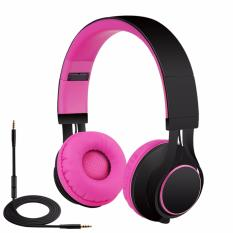 Katalog Headphone Sound Intone Hd30 Sports Music Headset With Mic Pink Terbaru