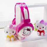 Harga Headphones Headset Karakter Animasi Hello Kitty Bando Pm2902 Yang Murah Dan Bagus