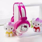 Spek Headphones Headset Karakter Animasi Hello Kitty Bando Pm2902 Headphone Headset