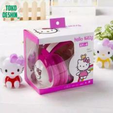 Penawaran Istimewa Headphones Headset Karakter Animasi Hello Kitty Bando 2509 Terbaru