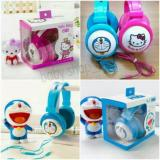 Harga Headset Bando Karakter Bass Super Quality Doraemon Hello Kitty Minnion Branded