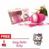Harga Headset Earphone Hands Free Karakter Hell Kitty Universal Original 100 Free Iring Hello Kitty Merk Hands Free