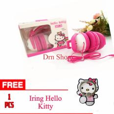 Harga Headset Earphone Hands Free Karakter Hell Kitty Universal Original 100 Free Iring Hello Kitty Murah